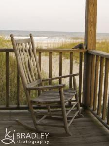 beach rocking chair