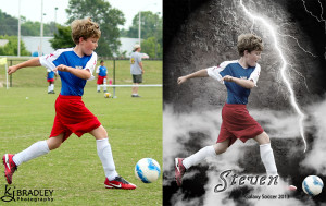 soccer player fast as lightning