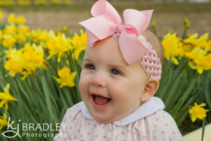 flowers, babies, daffodils