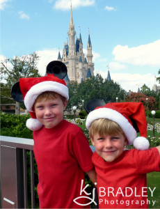 Disney Christmas card photo