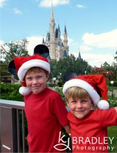 Disney Christmas card photo