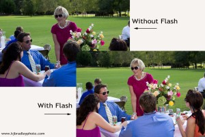 Use flash in the sun