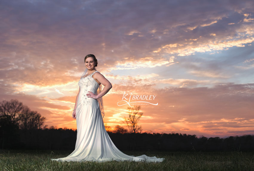 Sunset_bride_Rose_Hill_NC