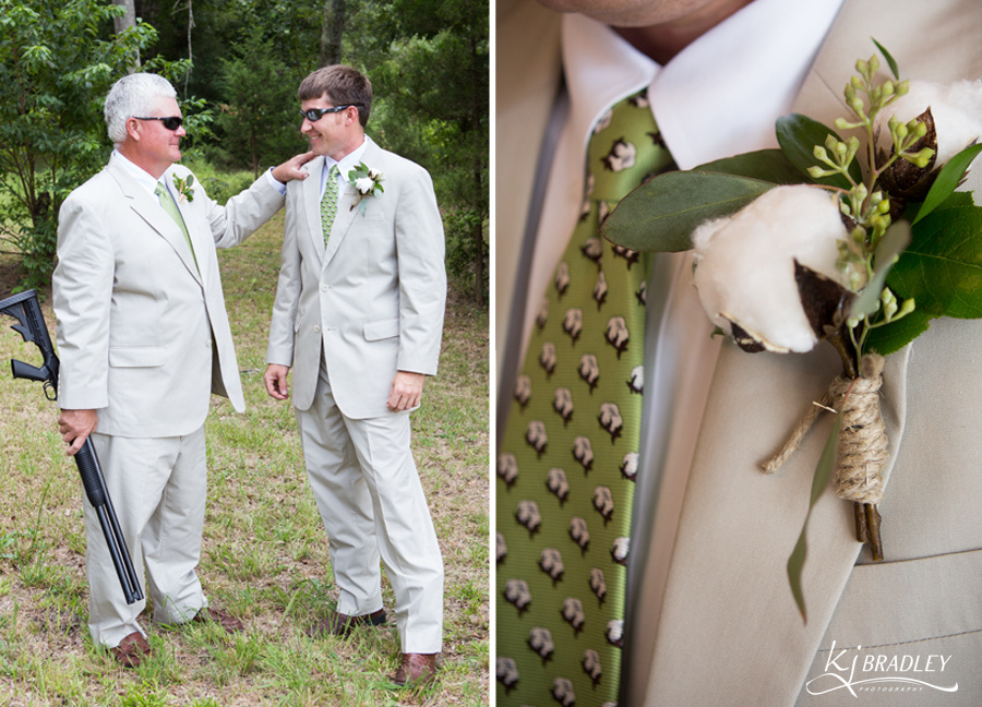 cotton_Boutonnière_shotgun_wedding_KJ_Bradley_Photography