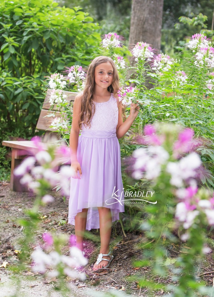 Wilson Botanical Gardens | Children by KJ Bradley Photography