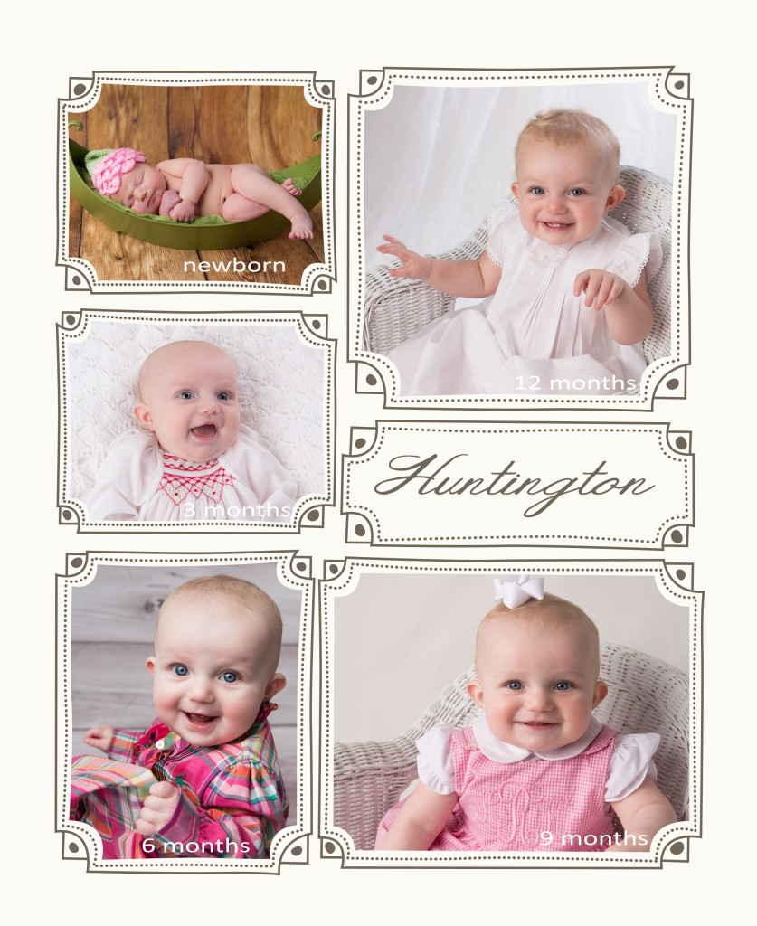 You've Come a Long Way Baby ~ First Year Baby Plan | KJ Bradley Photography