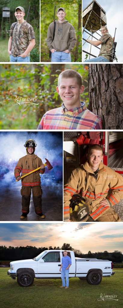 Firefighter, Outdoorsman, Hunter and All Around Awesome Senior   KJ Bradley Photography