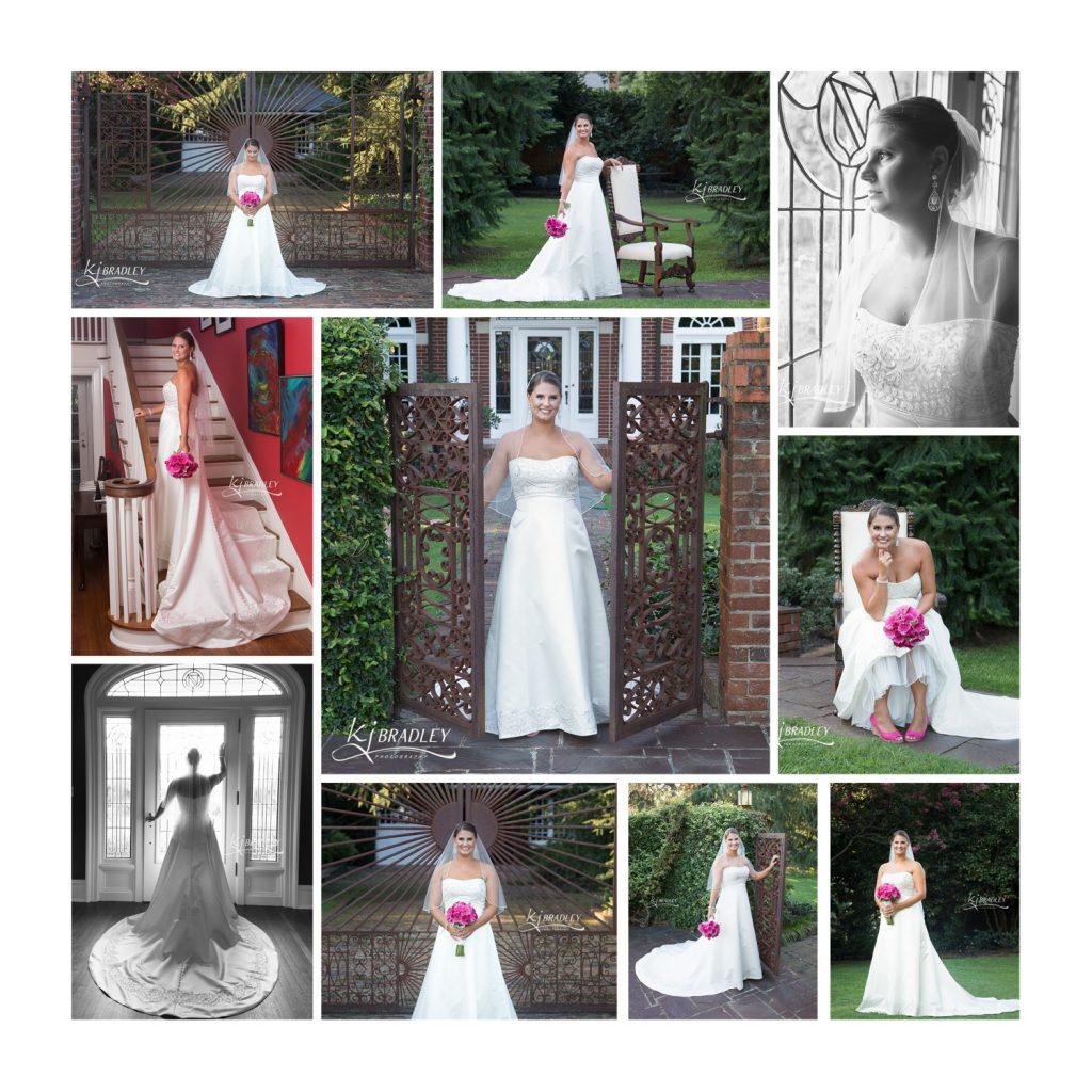 Bridal Portraits at The Leaning Tree, Bailey, NC | KJ Bradley Photography