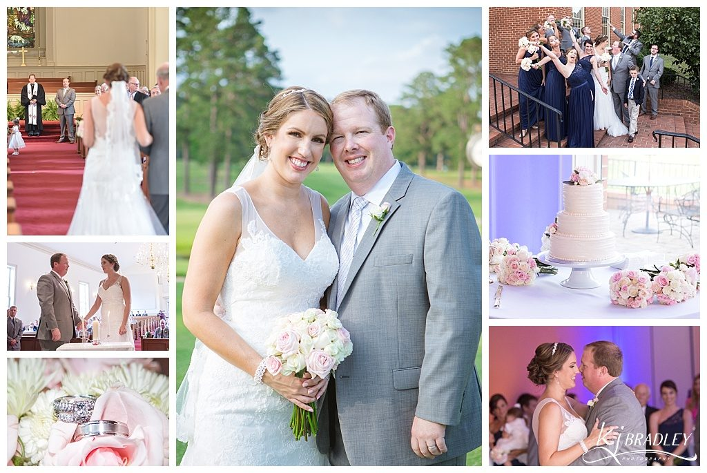 Beautiful Nashville, NC Wedding | KJ Bradley Photography