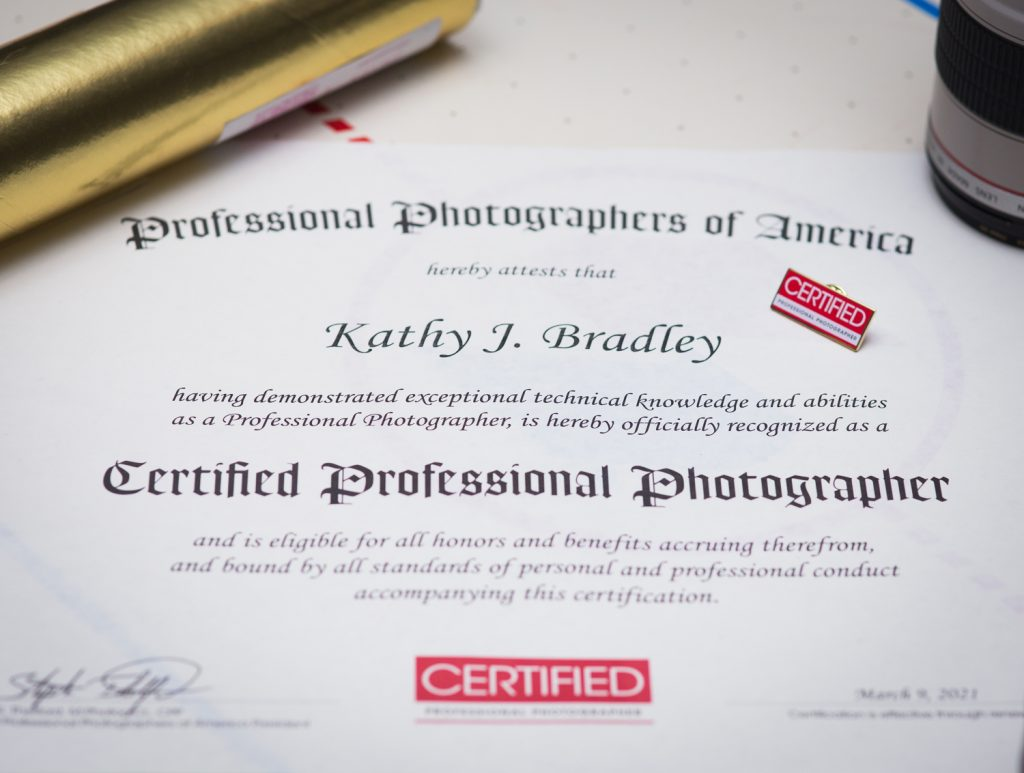So What is a Certified Professional Photographer? | KJ Bradley Photography